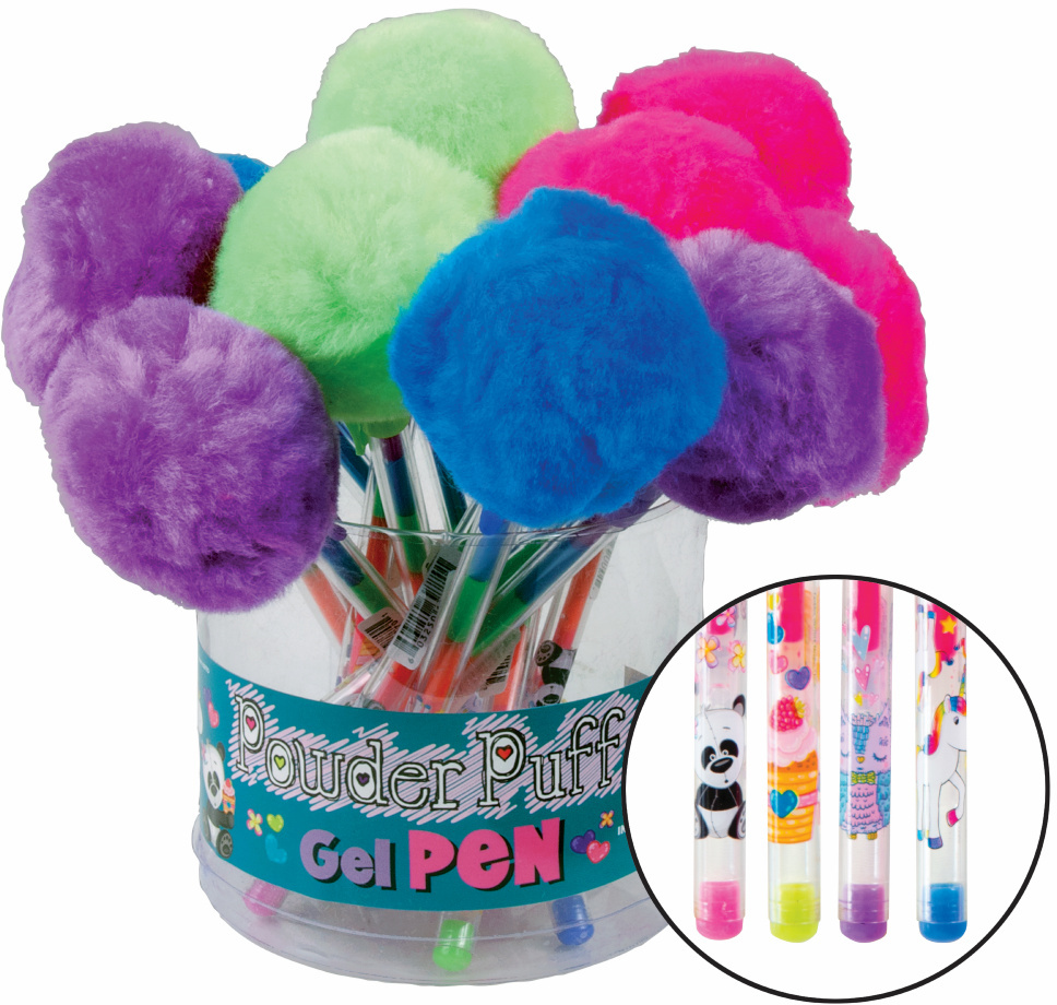 Pufferball Layered Gel Pen Case Pack 12