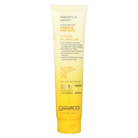 Giovanni Hair Care Products Hair Mask - Pineapple And Ginger - Case Of 1 - 5.1 Fl (Giovanni Case)