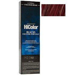 L'oreal Paris Excellence Hicolor Permanent Hair Color, Black Plum