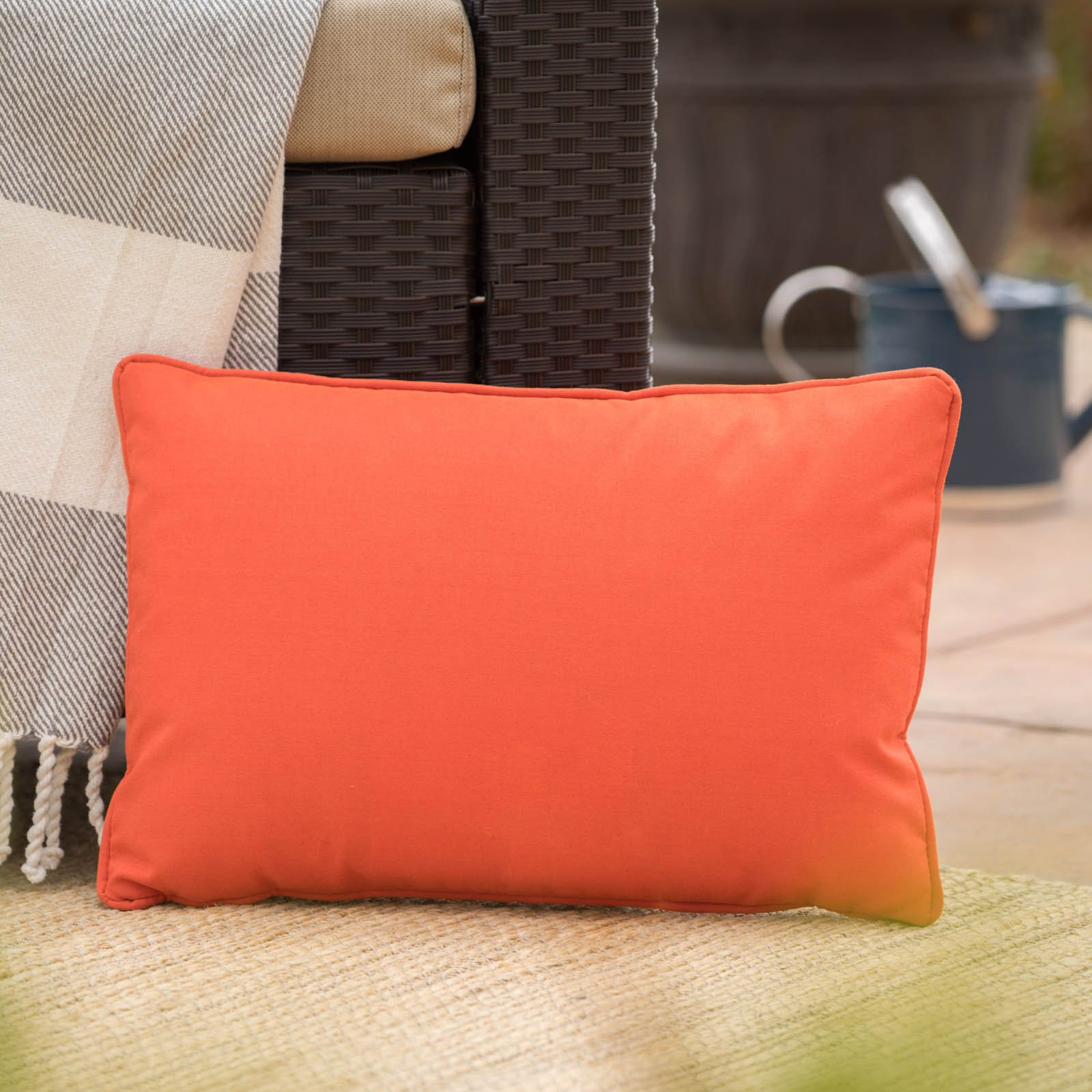 Coronado Outdoor Rectangular Water Resistant Pillow