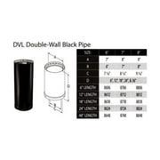 M&G DURAVENT INC 8624 6x24 Double DVL Stove Pipe