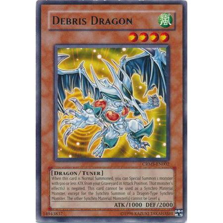 YuGiOh Crimson Cris Debris Dragon CRMS-EN002