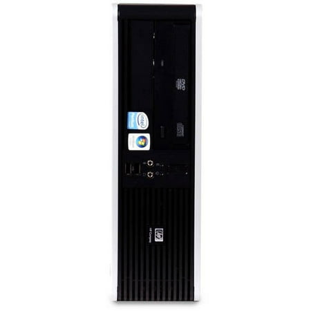 Refurbished HP DC5800 SFF Desktop PC with Intel Core 2 Duo E8400 Processor, 4GB Memory, 160GB Hard Drive and Windows 10 Home (Monitor Not Included)