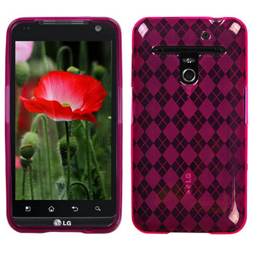 LG VS910 Revolution MyBat Candy Skin Cover, Smoke Argyle