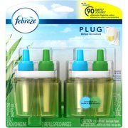 Febreze NOTICEables Meadows & Rain Scented Oil Air Freshener Refills, 0.87 fl oz, 2 count