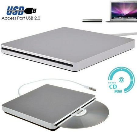 USB External Slot in DVD CD Drive Burner Superdrive for Apple for MacBook Air Pro Convenience for Playing Music (Apple Mac Music)