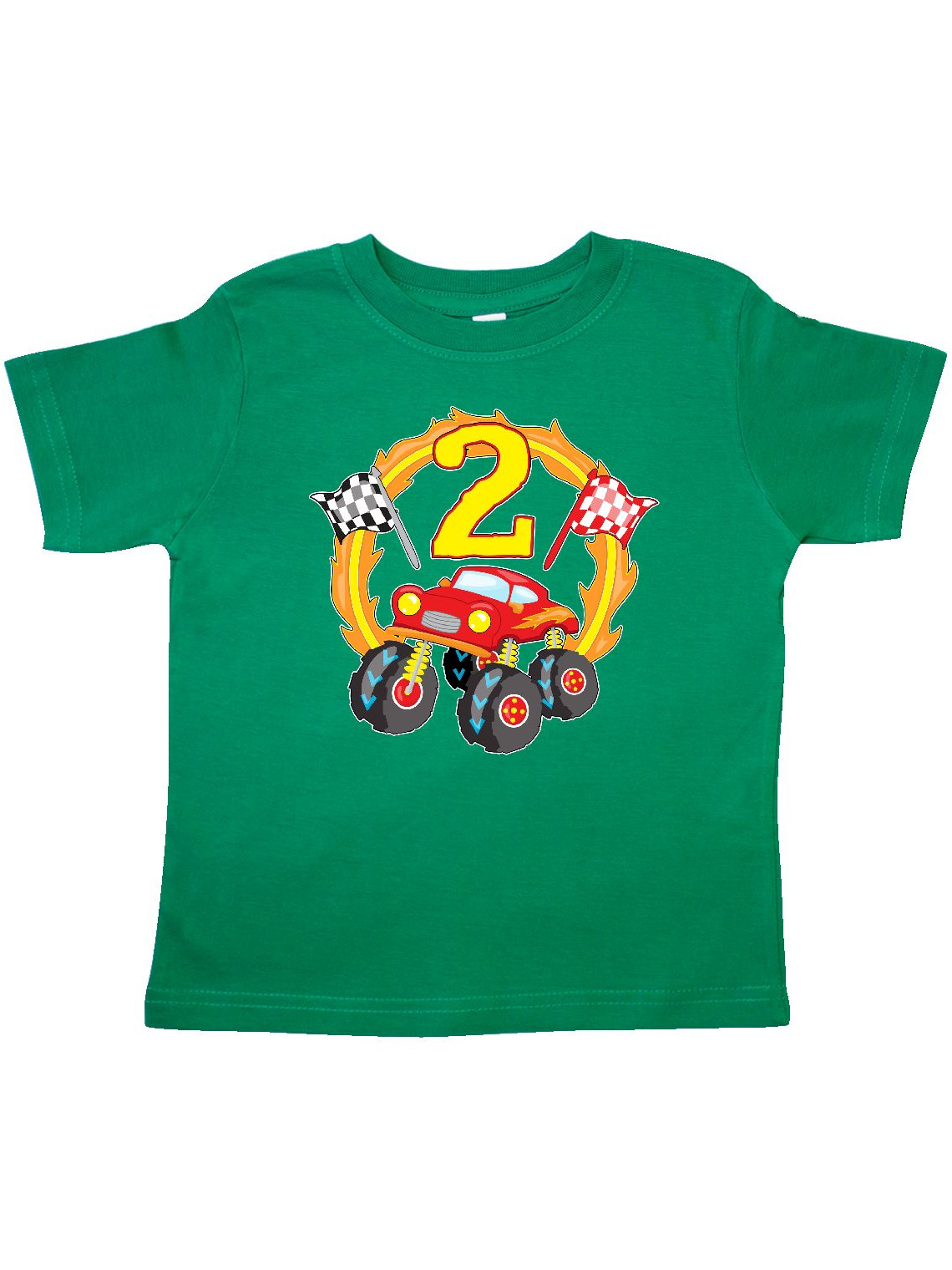 Monster Truck 2nd birthday Toddler T-Shirt