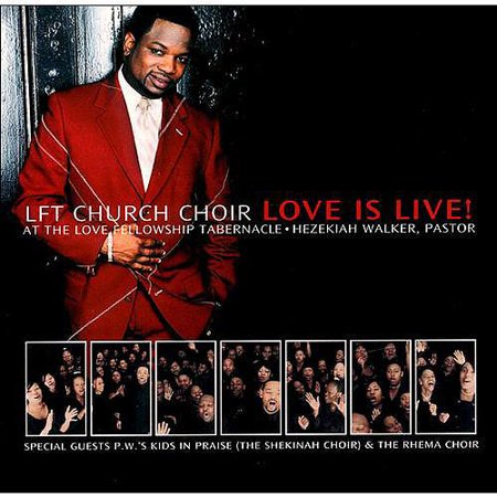 LOVE IS LIVE! [PASTOR HEZEKIAH WALKER] (Sheet Music For Grateful By Hezekiah Walker)
