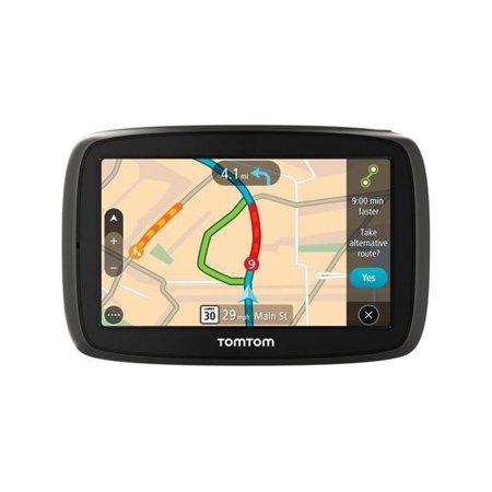 tomtom start 60 6 touchscreen portable gps navigation system with lifetime maps black new. Black Bedroom Furniture Sets. Home Design Ideas