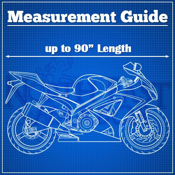 Motorcycle Bike 4 Layer Storage Cover Heavy Duty For Triumph Scrambler Avenger Blazer Trident 900 - image 1 de 3