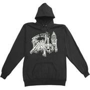 Death Men's  Classic Logo Hooded Sweatshirt Black