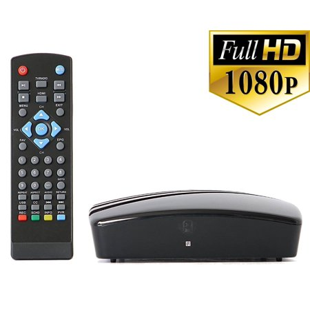 Digital Converter Box   Rca Bundle To View And Record Over The Air Hd Channels For Free  Instant Or Scheduled Recording  1080P Hdtv  High Resolution  Hdmi Output And 7 Day Program Guide