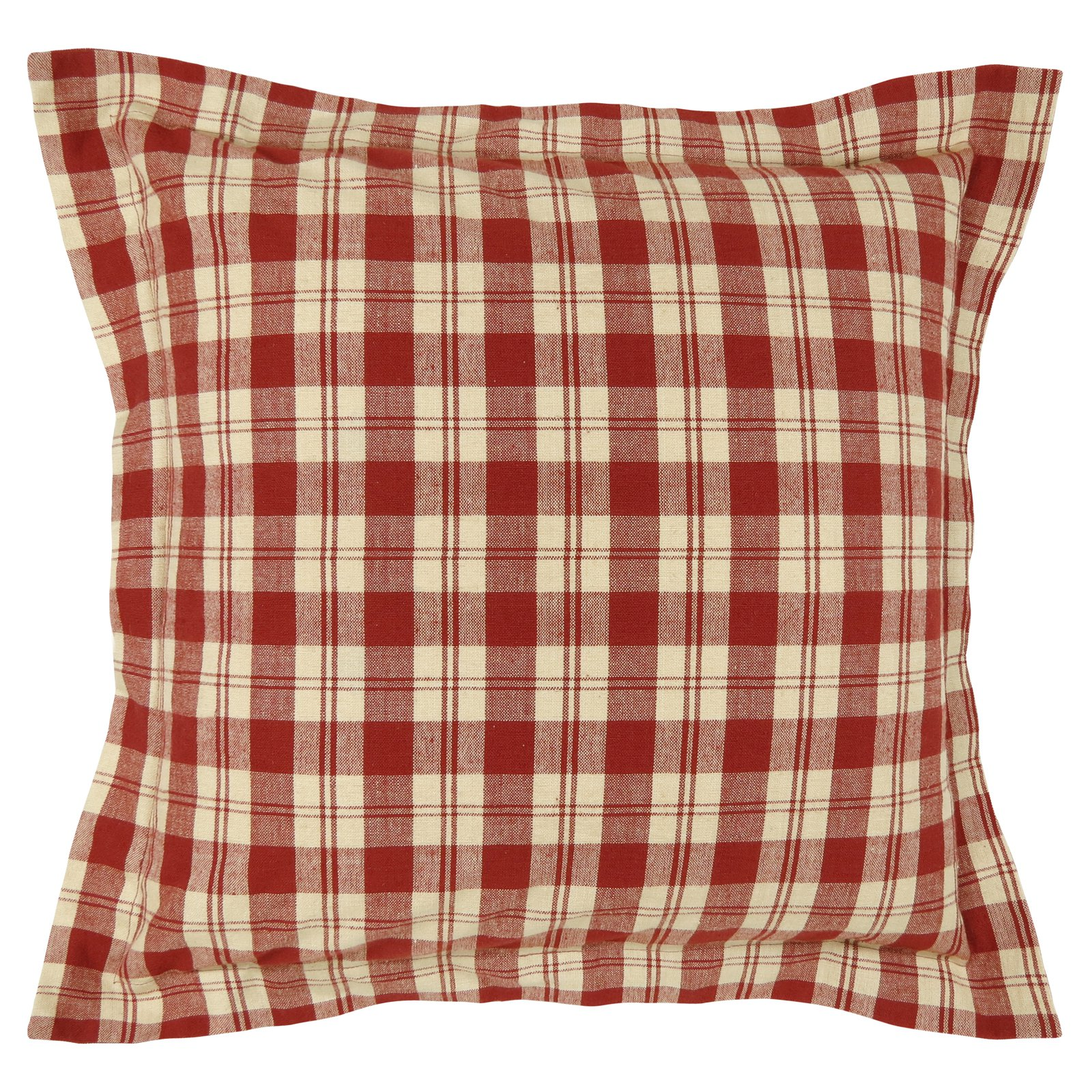 Vintage House by Park B. Smith Buffalo Plaid Quilted Throw Pillow