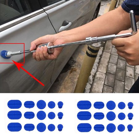 30pcs Car Body Dent Removal Pulling Tabs Paintless Repair Tools Glue Puller (Headlamp Glue)
