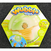 NSI The Amazing WUBBLE Bubble Ball - Looks Like a Bubble, Plays Like a Ball! Green