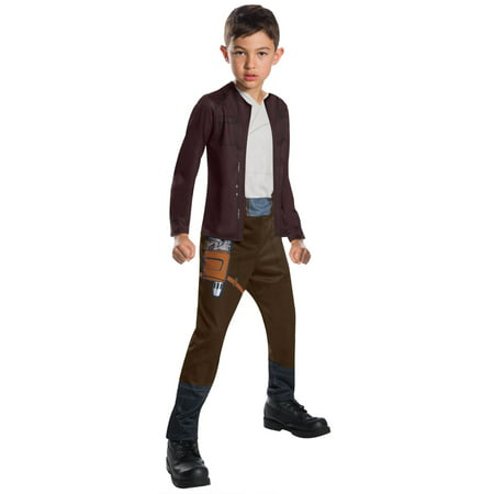 Star Wars Episode VIII - The Last Jedi Boy's Poe Dameron Costume - Halloween Jessie Episodes