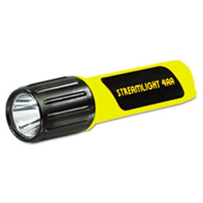 Streamlight. 68602 ProPolymer Lux LED Flashlight, 4AA (Included), Yellow