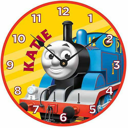 Childs Clock Personalized (Personalized Thomas & Friends Retro Thomas Wall Clock)