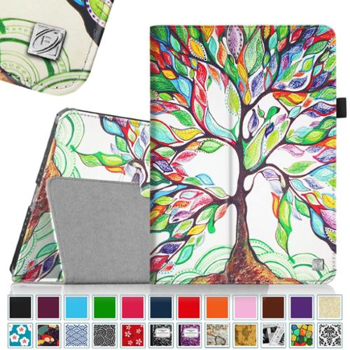 iPad mini 3 / iPad mini 2 / iPad mini Case - Fintie Folio Cover Slim Fit PU leather with Auto Sleep/Wake, Love Tree