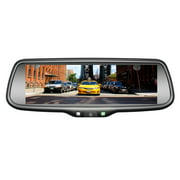 "BOYO VTW73M 7.3"" OE-Style Rearview Mirror Monitor with Miracast"