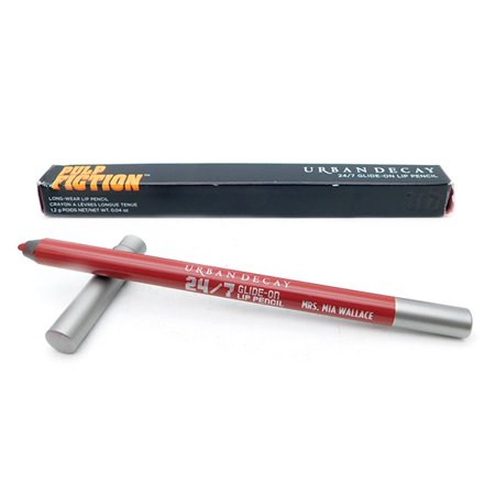 Urban Decay 24/7 Glide On Lip Pencil Pulp Fiction Mrs. Mia Wallace  .04 Oz. - Pulp Fiction Mia Wallace Halloween