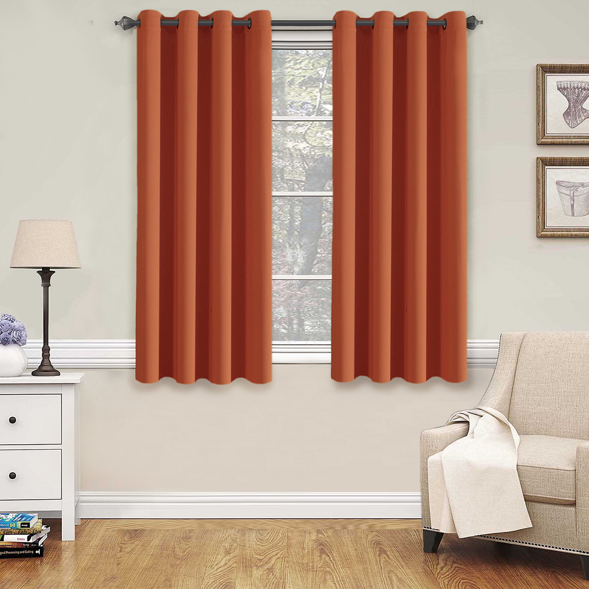 H.VERSAILTEX Thermal Insulated Blackout Shades