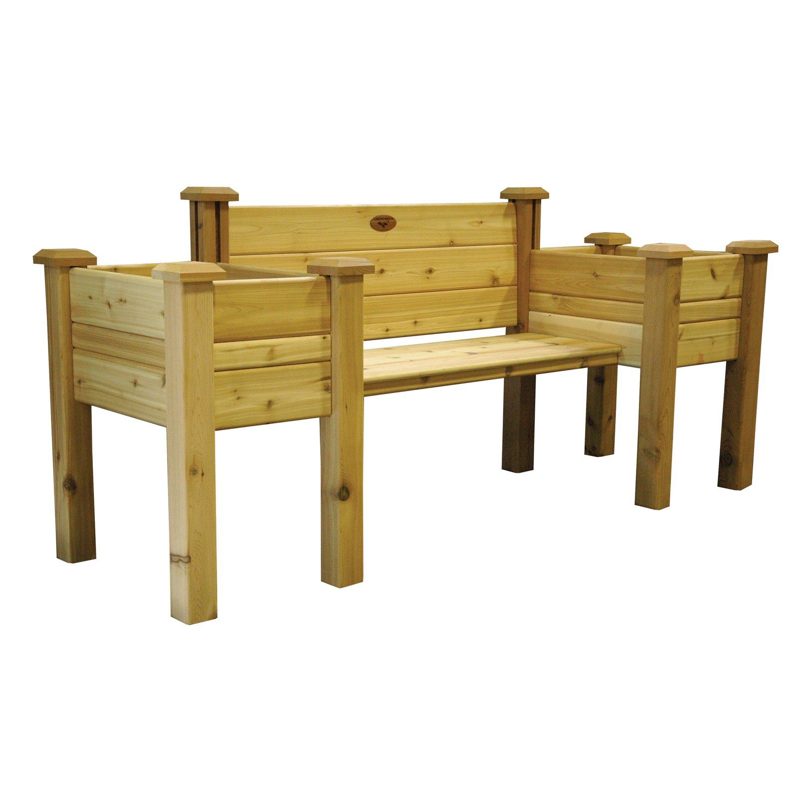 Gronomics Cedar Bench Planter