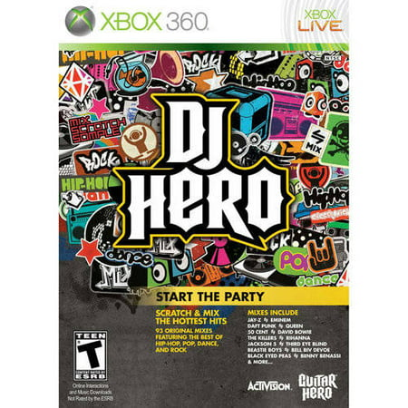 Dj Production Console (DJ Hero - Game Only (Xbox 360) -)