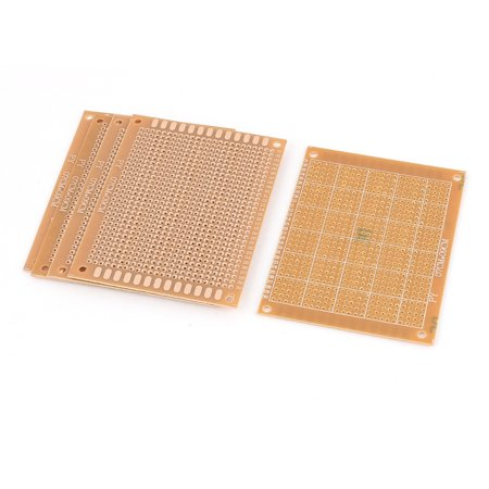 5Pcs Single-sided PCB Printed Electric Circuit Prototype Board (Prototype Pcb Board)
