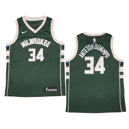 Youth Nike Giannis Antetokounmpo Milwaukee Bucks Green Swingman Jersey - Icon  Edition - Walmart.com 9ad75e54b