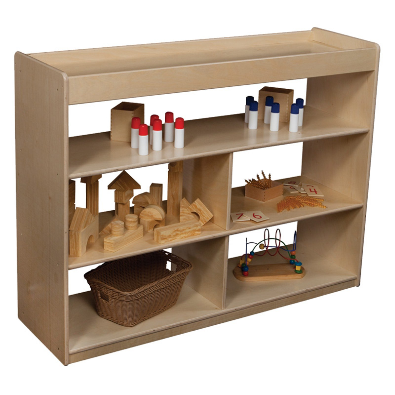 Wood Designs Math/Language Cabinet - 36H in.