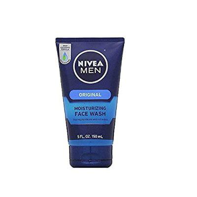 nivea for men moisturizing face wash 5 oz