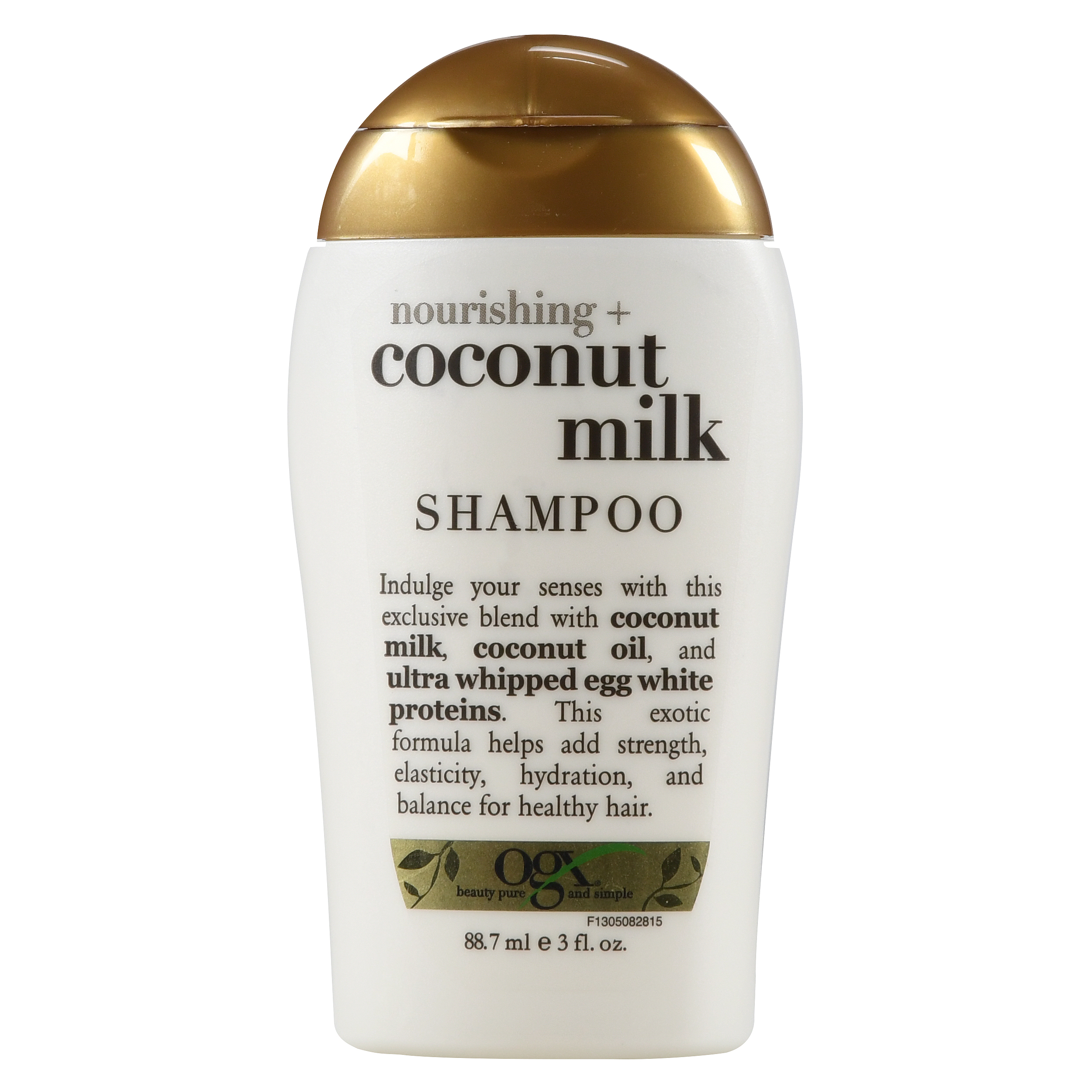 OGX Nourishing Coconut Milk Shampoo, 3 Oz