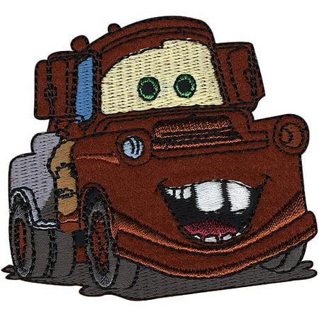 Disney Cars Iron On Applique, Mater, 3
