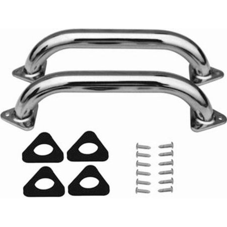 Racing Truck Body (Racing Power Company R9700 - Chrome Truck Cab Handles With Hardware/Gasket - 1