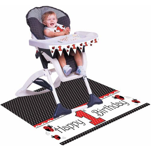 Creative Converting Ladybug Fancy High Chair Kit