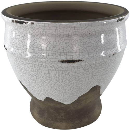 "Better Homes and Gardens 5"" Planter, Distressed White by HK YIBO CERAMICS LIMITED"