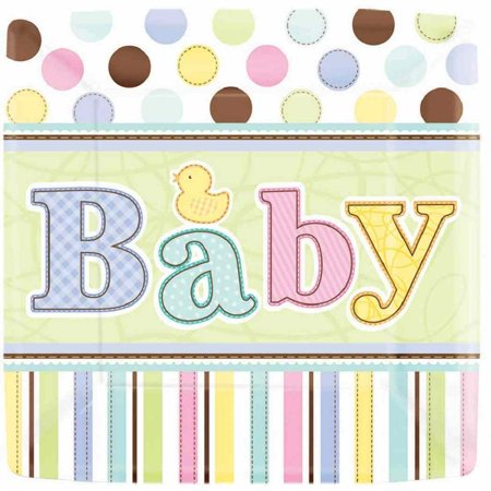 Tiny Bundle Polka Dot Stripes Rubber Duck Baby Shower Party 7