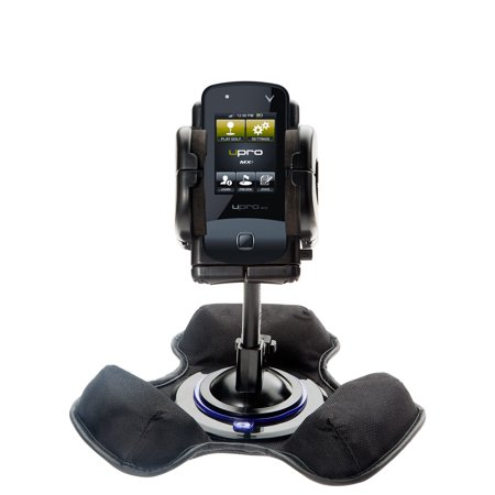 Bean Bag Dashboard Mount - Car / Truck Vehicle Holder Mounting System for uPro uPro Golf GPS Includes Unique Flexible Windshield Suction and Universal Dashboard Mount Options