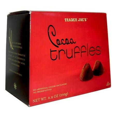Trader Joe's Cocoa Truffles....8.8 Oz. (Trader Joe's Halloween Treats)