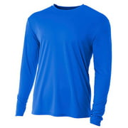 A4 Youth Long Sleeve Cooling Performance Crew Nb3165