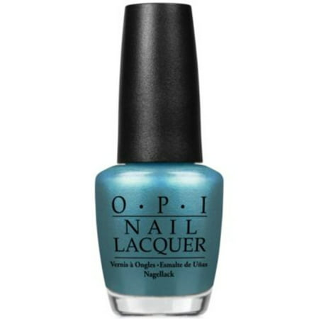 OPI Nail Lacquer Nail Polish, Teal The Cows Come Home