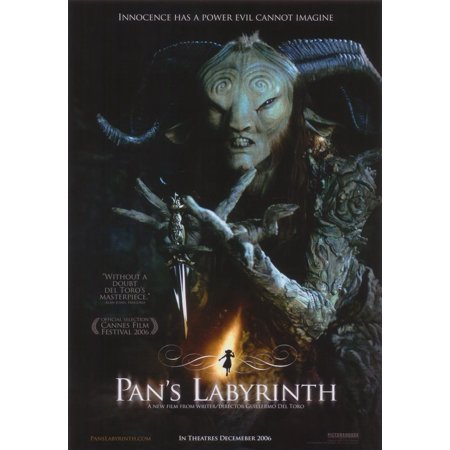Pan's Labyrinth (2006) 11x17 Movie Poster - Labyrinthe Halloween