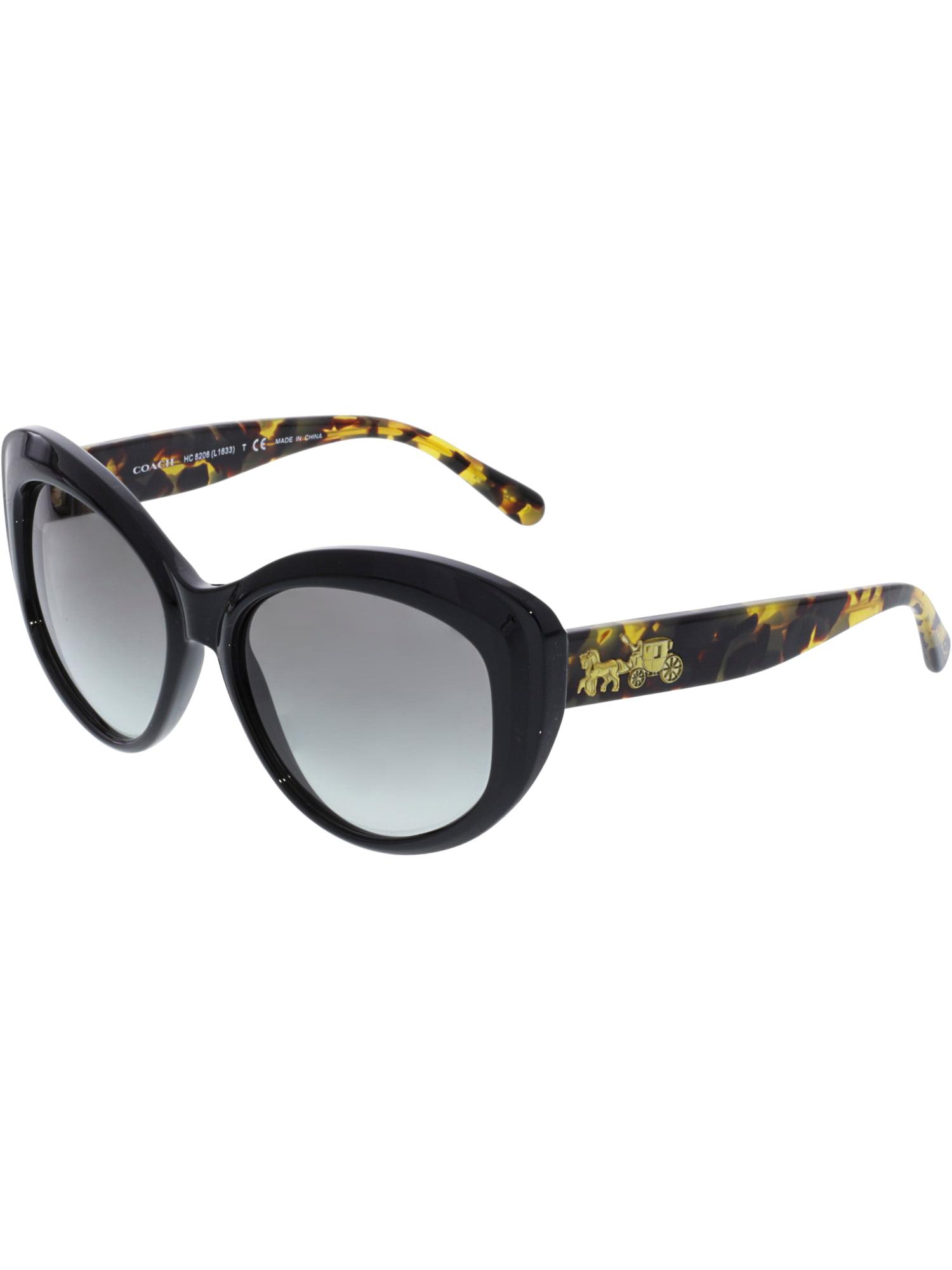 8f176e32d820 ... czech coach womens mirrored hc8206 544911 55 black cat eye sunglasses  c8019 169c6