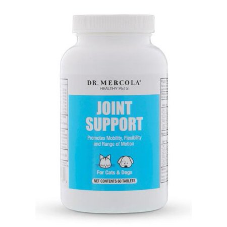 - Dr. Mercola Joint Support for Pets - Dietary Supplement For Cats & Dogs - Delicious Chewable Tablet - No Artificial Flavors Or Colors - 60 Tablets