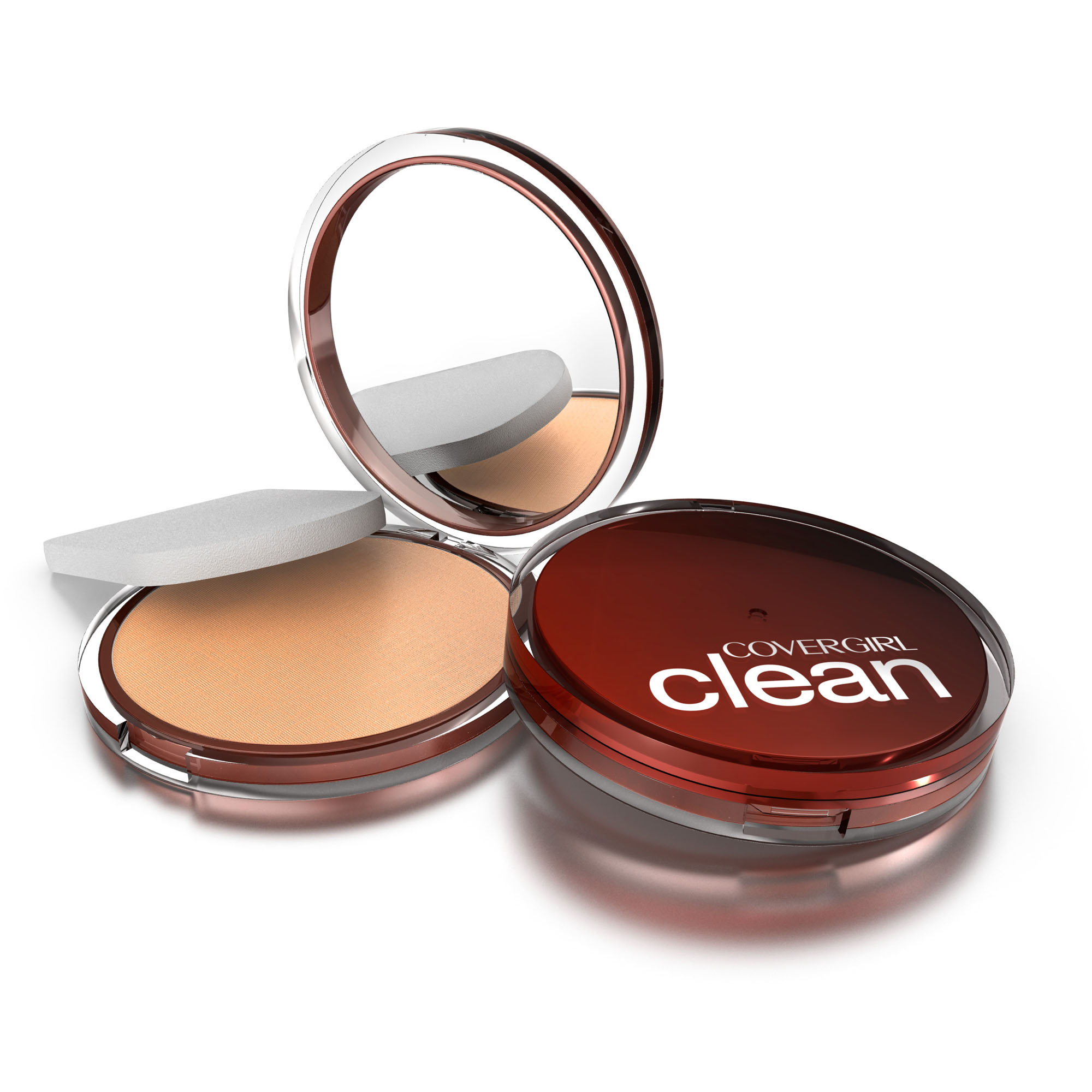 CoverGirl Clean Pressed Powder Foundation Creamy Natural, .39 Oz