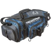 i4 3600 Series Fishing Tackle Bag by Realtree Fishing, Includes (3) 3600 Realtree Fishing Trays, Realtree Fishing Blue Pattern