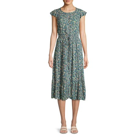Felicia Floral Button-Front Dress ()