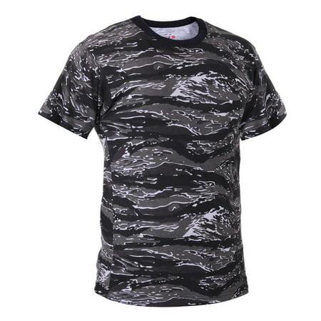 Urban Tiger Stripe Camo Camouflage T-shirt