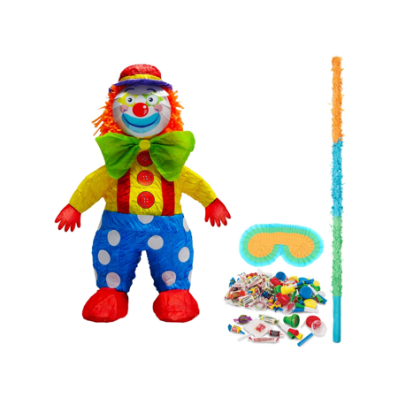 Clown Pinata Kit - Clown Pinata